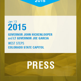 Hickenlooper campaign lit and Inaugural collateral