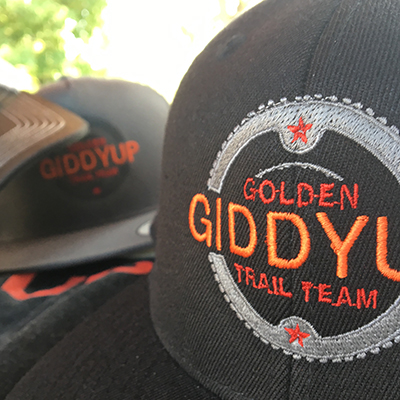 Golden Giddyup event collateral