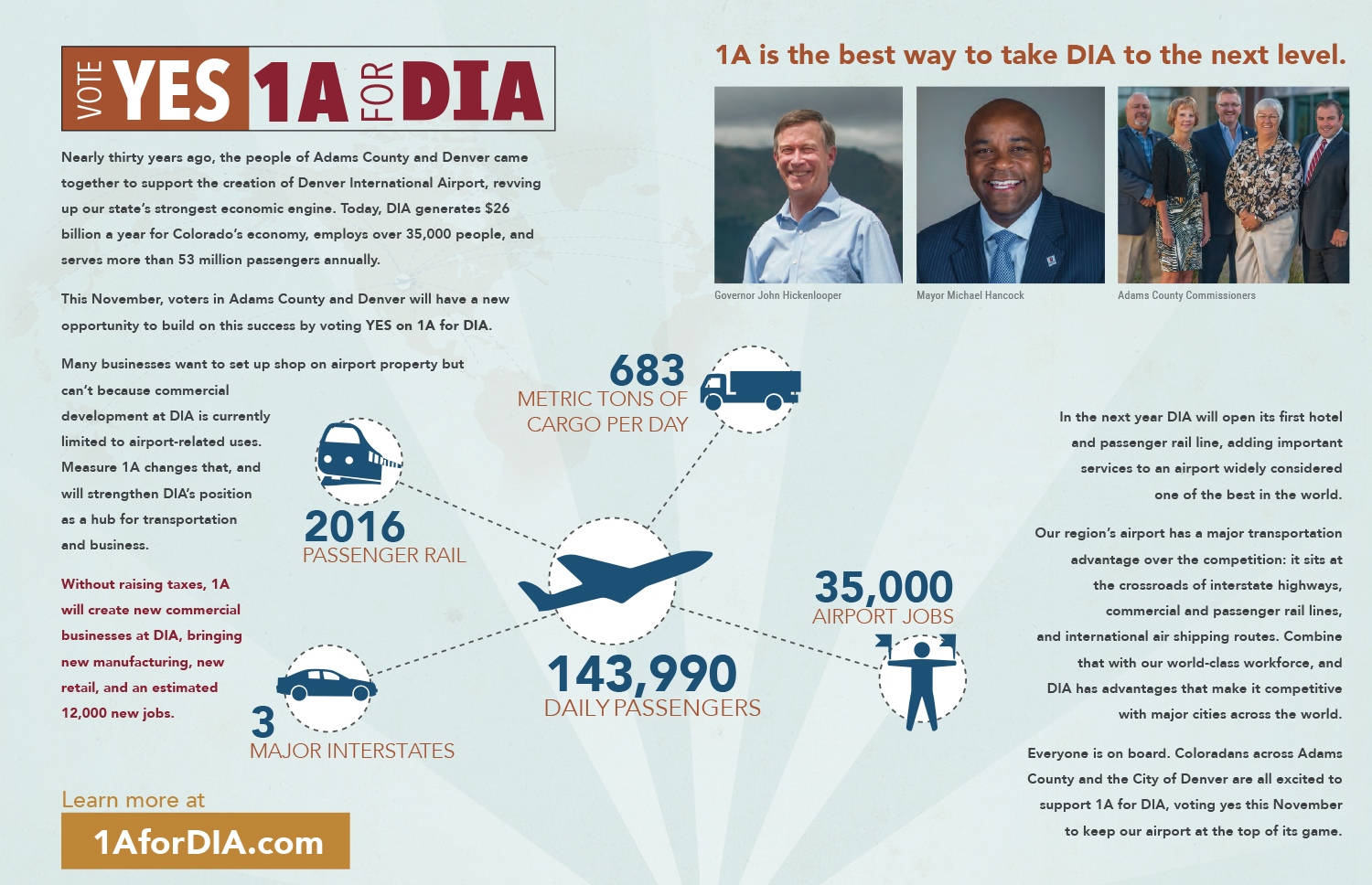 1A FOR DIA MAILERS